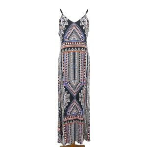 Mossimo Southwest Aztec Stretch Maxi Dress (AA17)